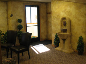 Lansing dental office lobby