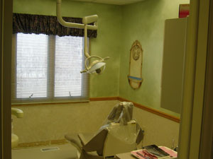 dental operatory at Implant Dentistry of Greater Lansing