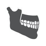 weakening jawbone icon